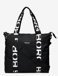 TOTE SERENA - tote bags - black