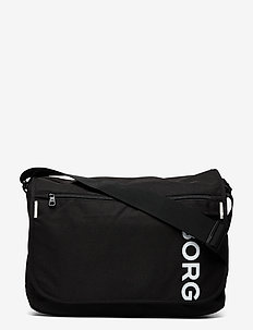CORE FLYER LOW - shoulder bags - black