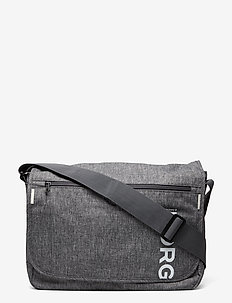 CORE FLYER LOW - shoulder bags - grey melange
