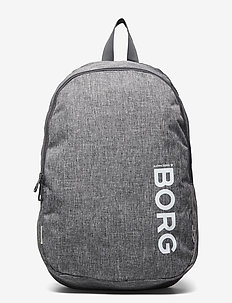 CORE BACKPACK - training bags - grey melange