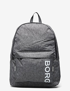 CORE NEW BACKPACK - training bags - grey melange