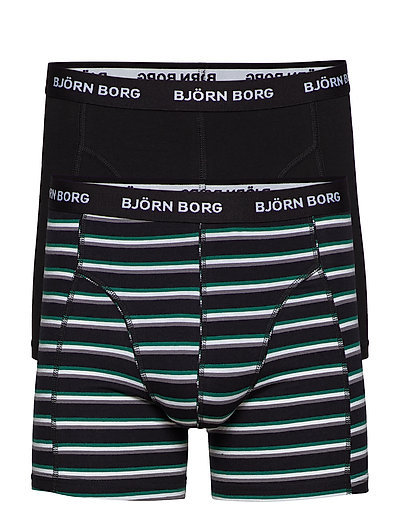 S MID SHORTS BB STRIPE 2p - BLACK BEAUTY