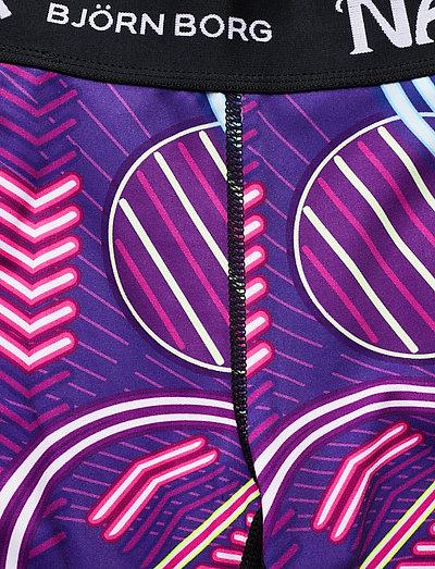 Björn Borg Bike Shorts Carly Carly- Naito Purple
