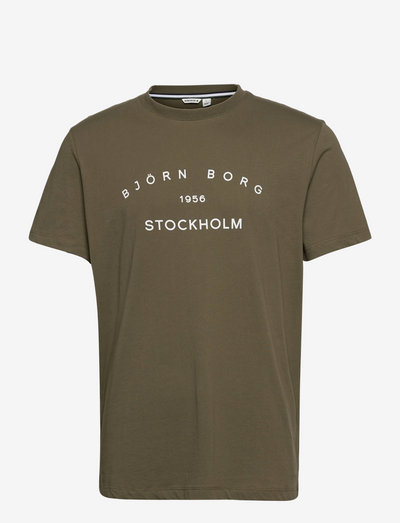 STHLM T-SHIRT - basic t-shirts - ivy green