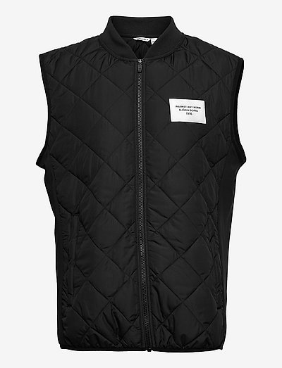STHLM PADDED VEST - jakker og frakker - black beauty