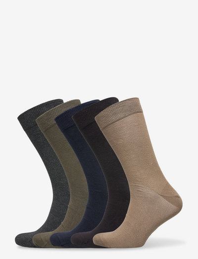 ESSENTIAL ANKLE SOCK 5p - chaussettes régulières - multipack 1