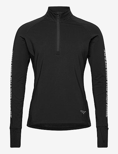 MIDLAYER M NIGHT NIGHT - tøj - black beauty