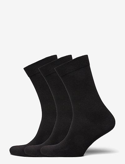 SOCK ANKLE SOLIDS - almindelige strømper - black beauty