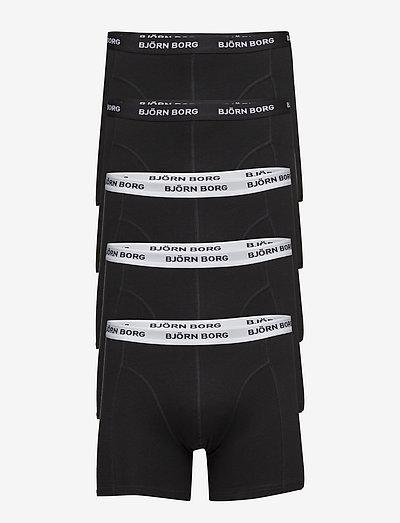 ESSENTIAL BOXER 5p - boxers - black