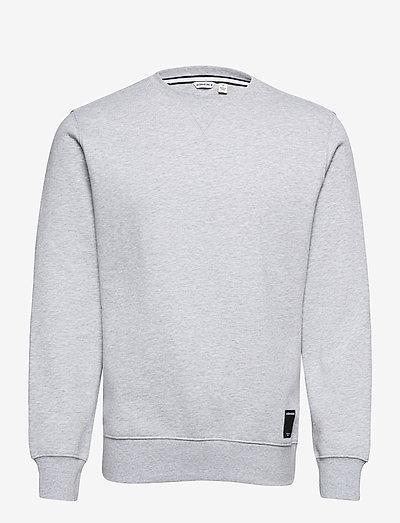 CREW CENTRE CENTRE - sweats - h108by light grey melange