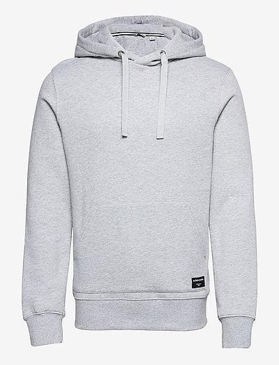 HOOD CENTRE CENTRE - hættetrøjer - h108by light grey melange