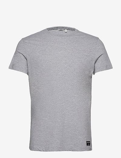 TEE CENTRE CENTRE - basic t-shirts - h108by light grey melange