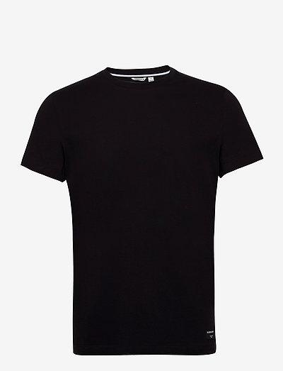 TEE CENTRE CENTRE - basic t-shirts - black beauty
