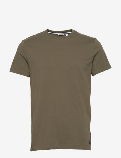 TEE CENTRE CENTRE - basic t-shirts - ivy green