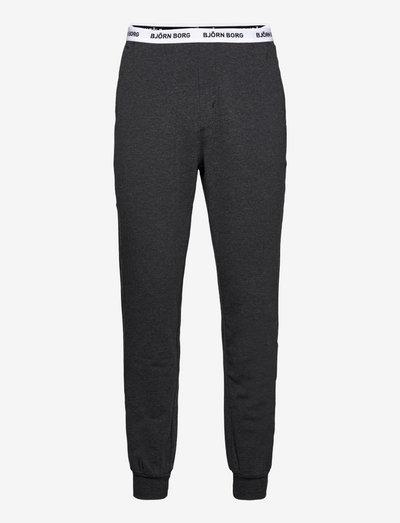 CORE LOUNGEWEAR PANT - spodnie piżamowe - anthracite melange
