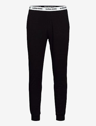 CORE LOUNGEWEAR PANT - spodnie piżamowe - black beauty