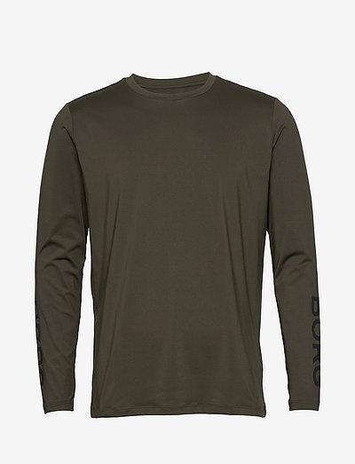 LS TEE BORG BORG - basic t-shirts - rosin