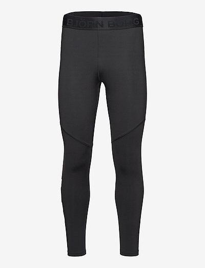 BORG TIGHTS - running & training tights - black beauty