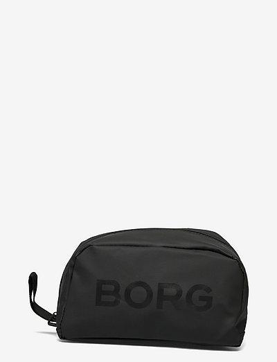 BORG TOILET CASE - toilettasker - black