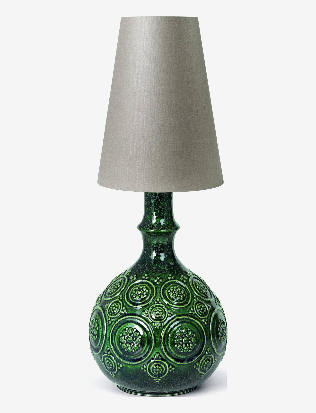 Bjørn Wiinblad - Symphony Magic Lamp H25,5 - pöytävalaisimet - dark green - 1