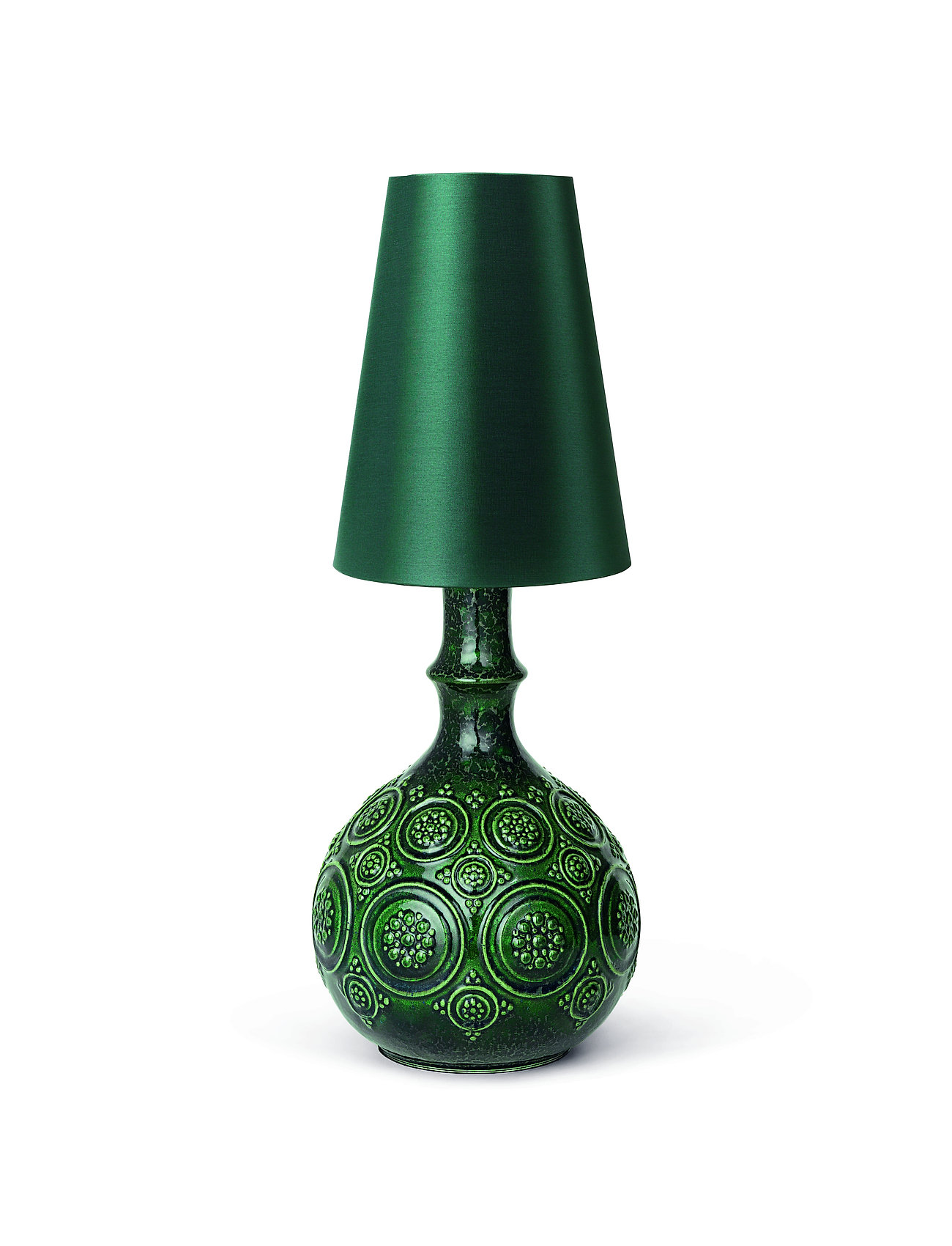Bjørn Wiinblad - Symphony Magic Lampshade H20 - lampunvarjostimet - dark green - 1