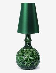 Bjørn Wiinblad - Symphony Magic Lamp H25,5 - pöytävalaisimet - dark green - 2