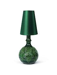 Bjørn Wiinblad - Symphony Magic Lamp H25,5 - pöytävalaisimet - dark green - 3