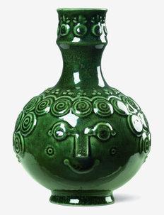 Symphony Ophelia Candle holder H14,5 - kynttilänjalat - dark green