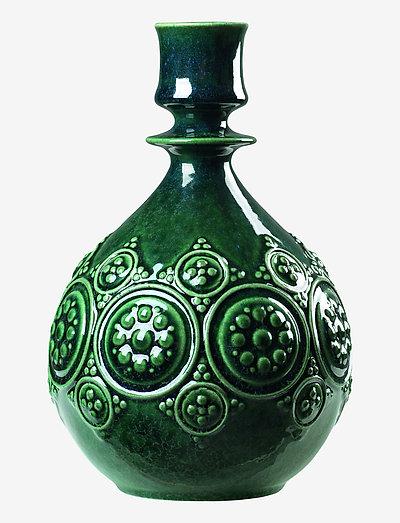 Symphony Magic Candle holder H18 - kynttilänjalat & kynttilälyhdyt - dark green