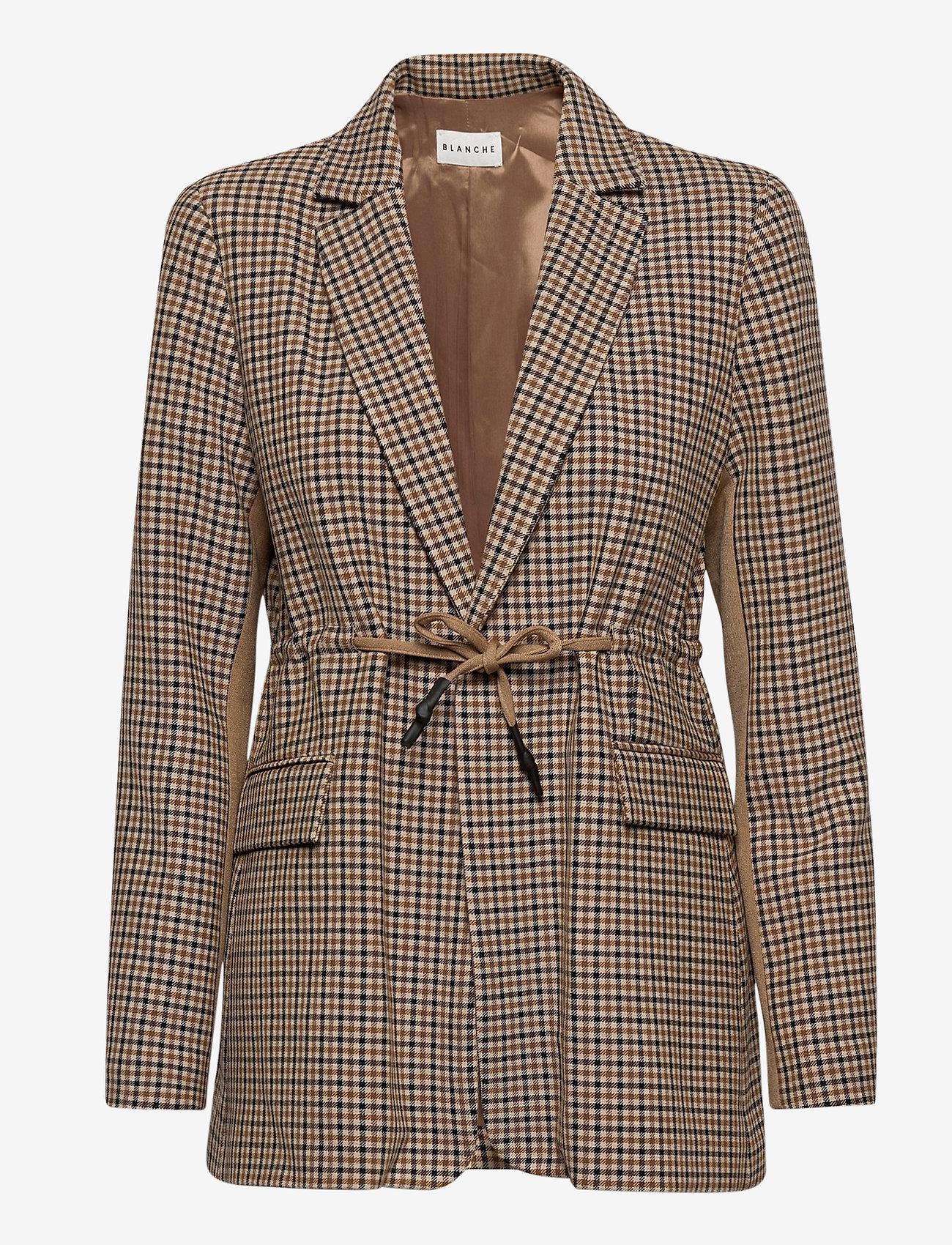 Blanche - Lora Long Blazer - casual blazers - trench - 1