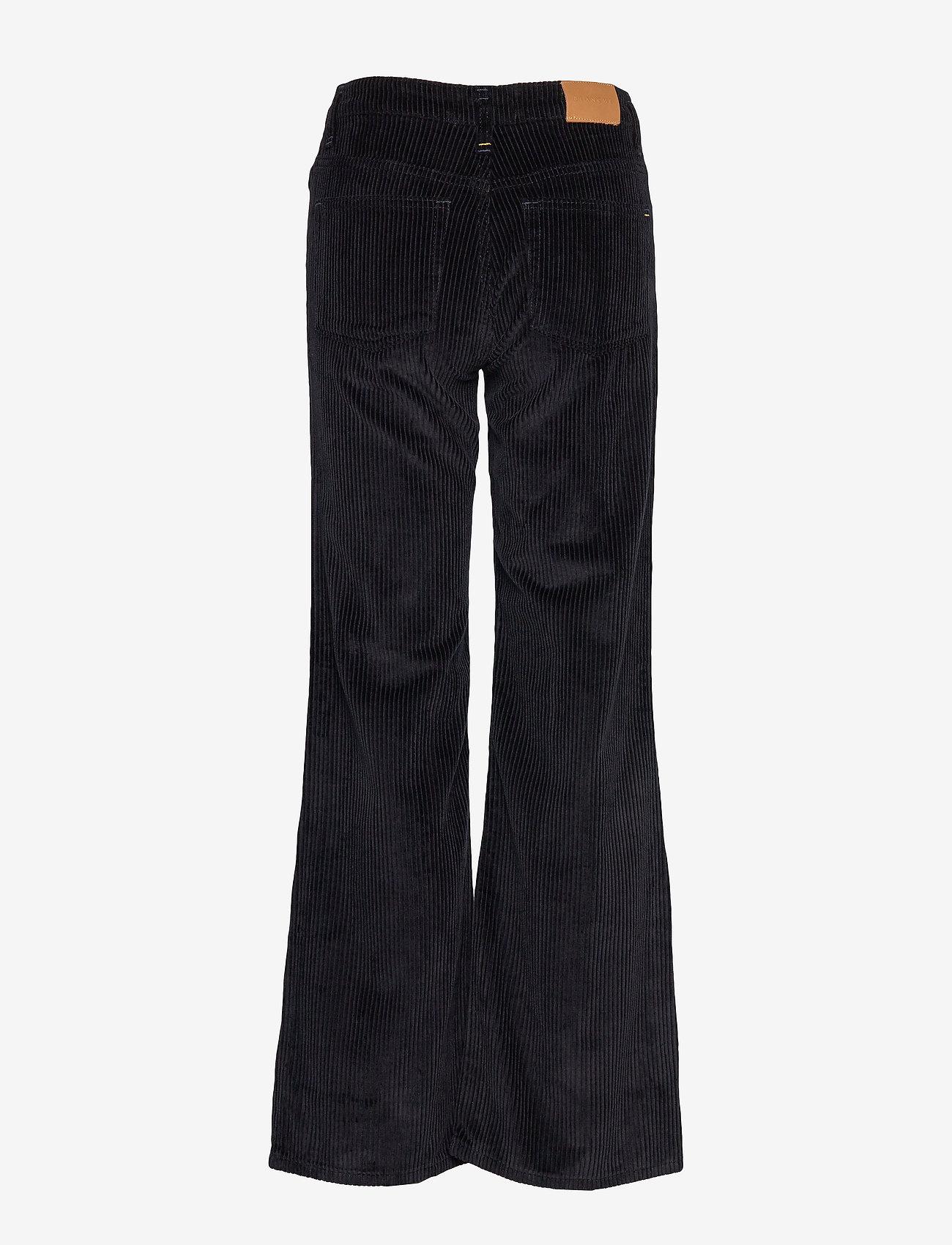 Blanche - Apollo Cord - bukser med brede ben - navy - 1