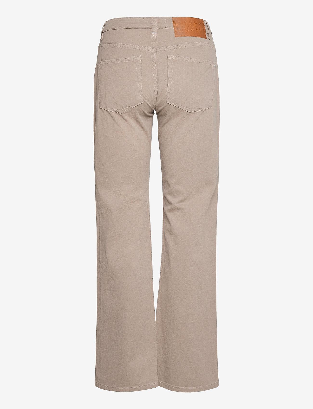 Blanche - Apollo - bukser med brede ben - cinder - 1