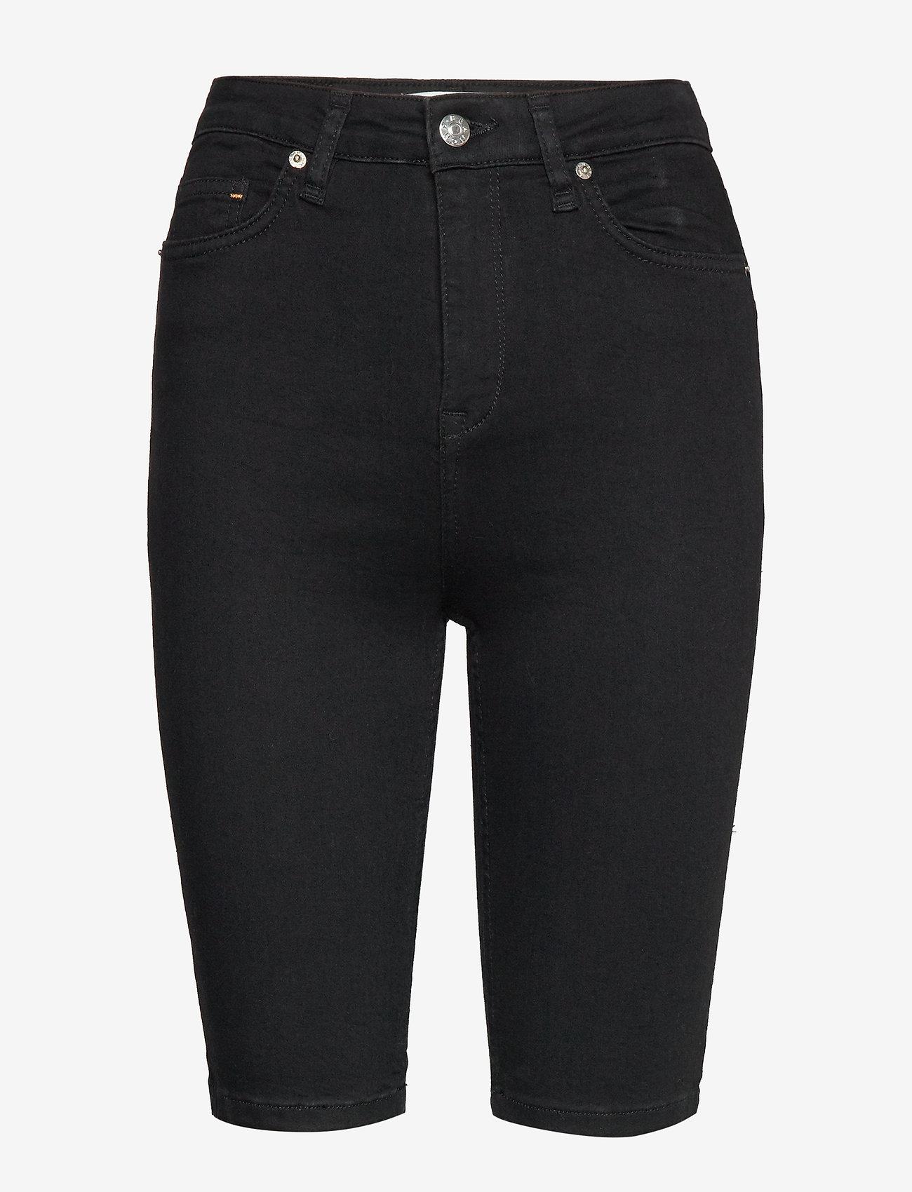 Blanche - Jade HW short - bermudas - black demin - 0