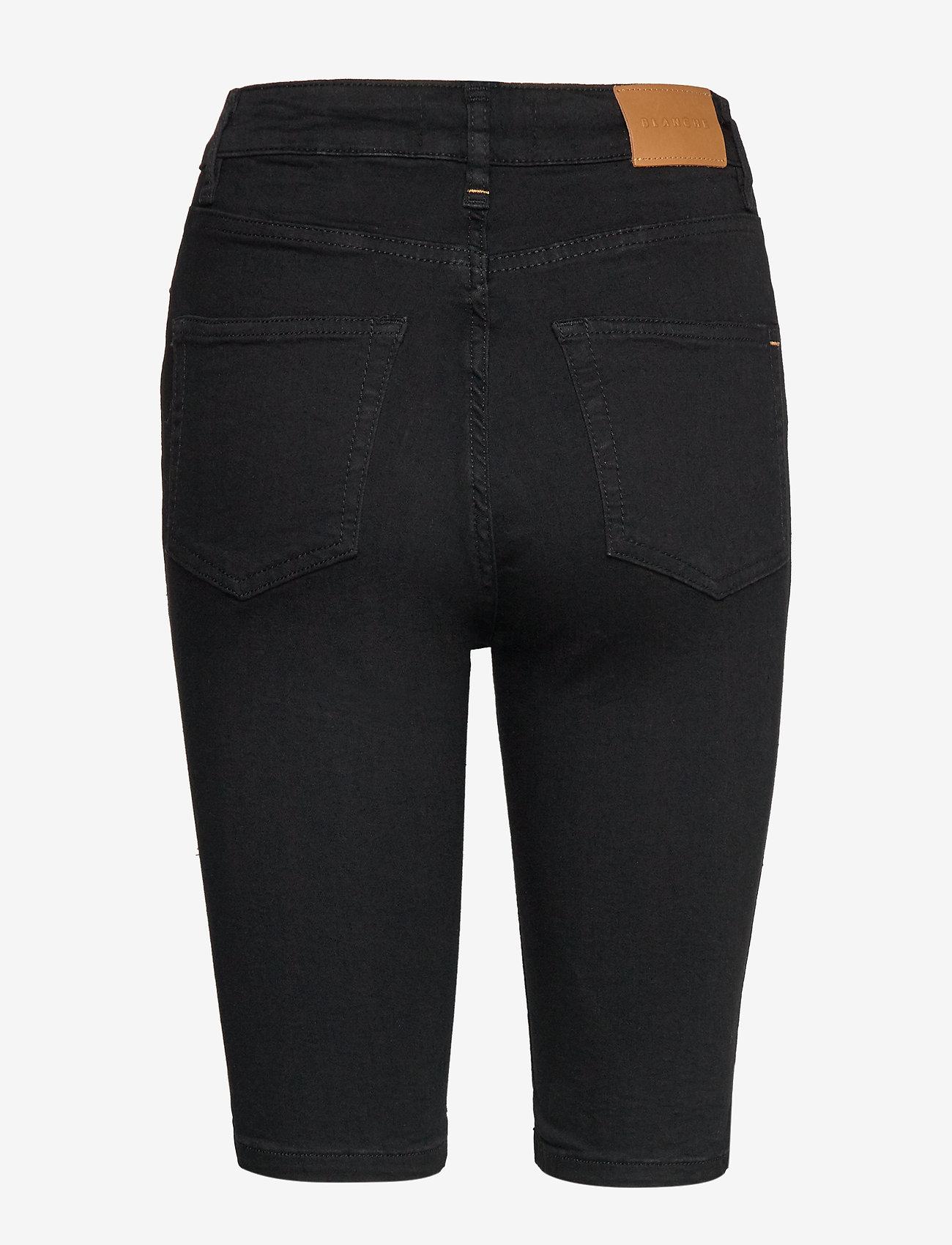 Blanche - Jade HW short - bermudas - black demin - 1