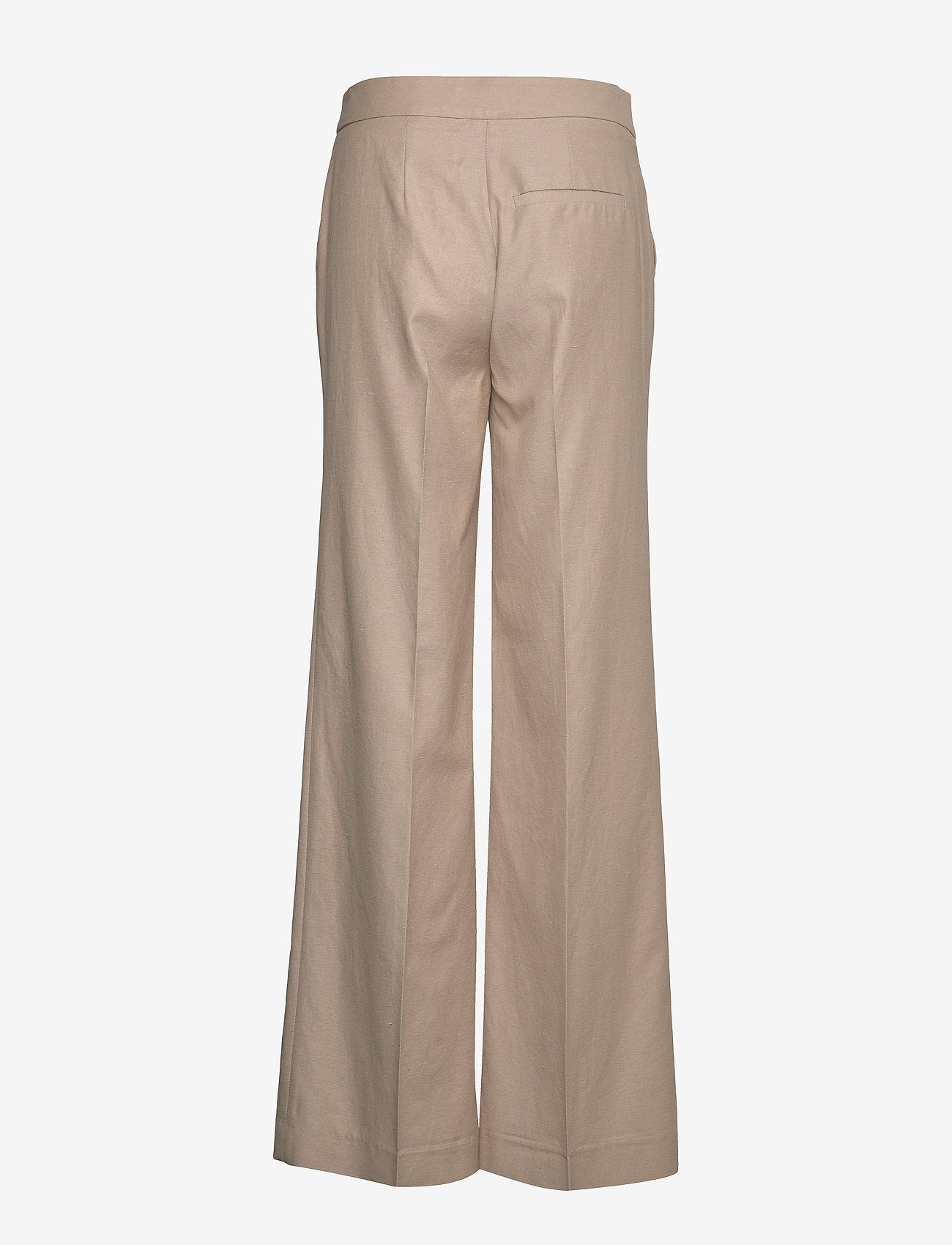 Blanche - May Pants - bukser med brede ben - light wood - 1
