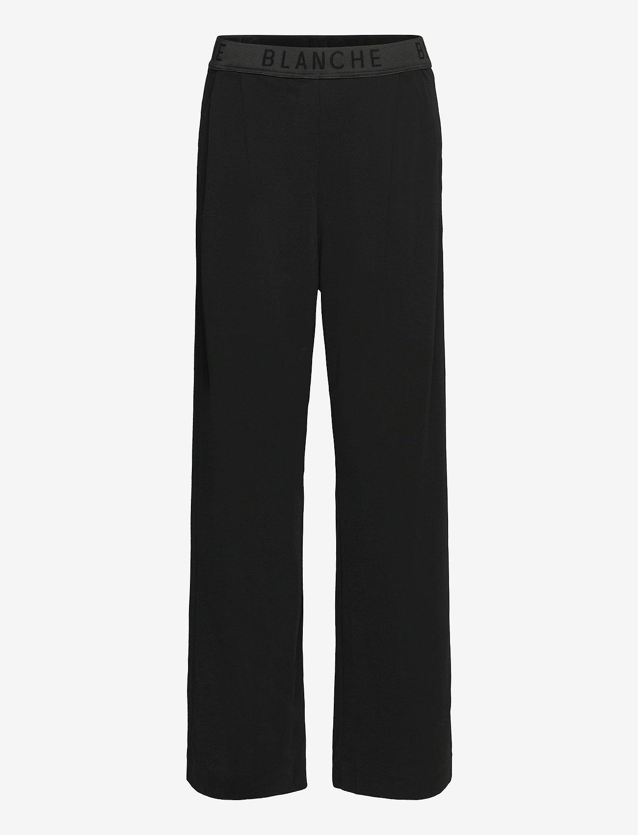 Blanche - Carisi Pants - kleidung - black - 0