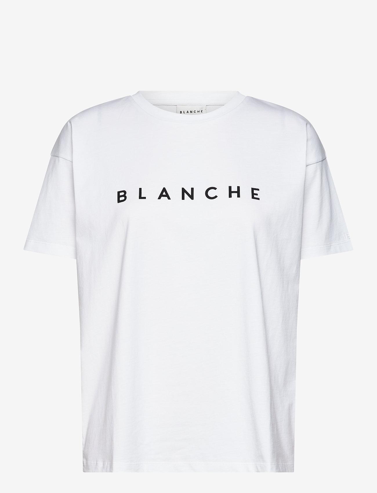 Blanche - Main - t-shirts - white - 0