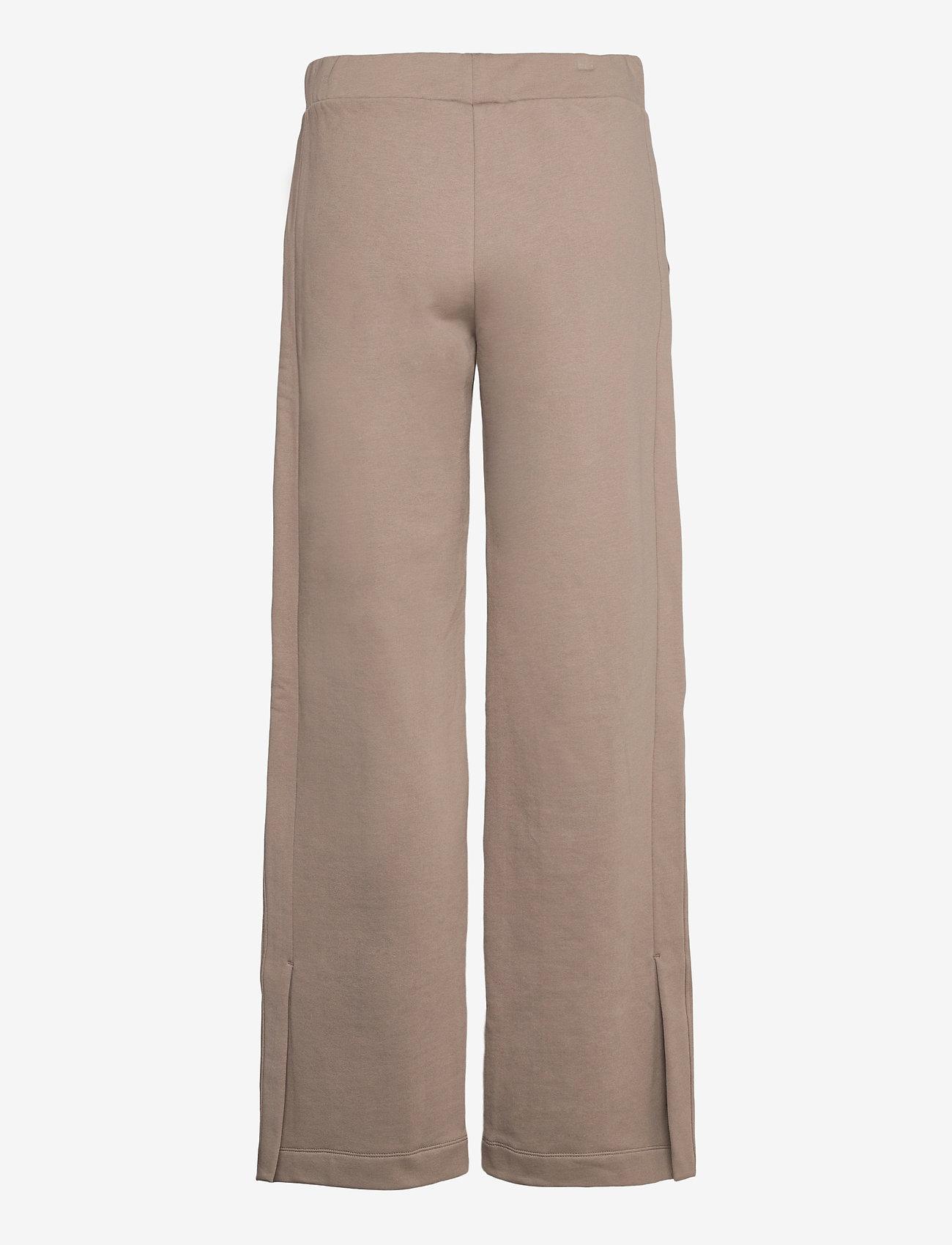 Blanche - BLANCHE x BOOZT Hella Slit Pants - bukser med brede ben - cinder - 1
