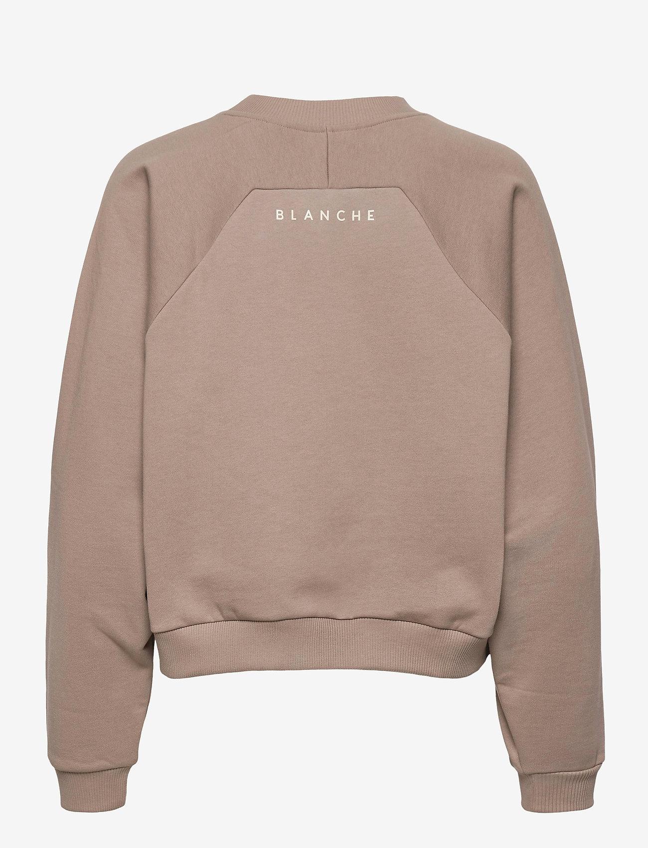 Blanche - BLANCHE x BOOZT Hella Oversize - BZ - sweatshirts & hættetrøjer - cinder - 1