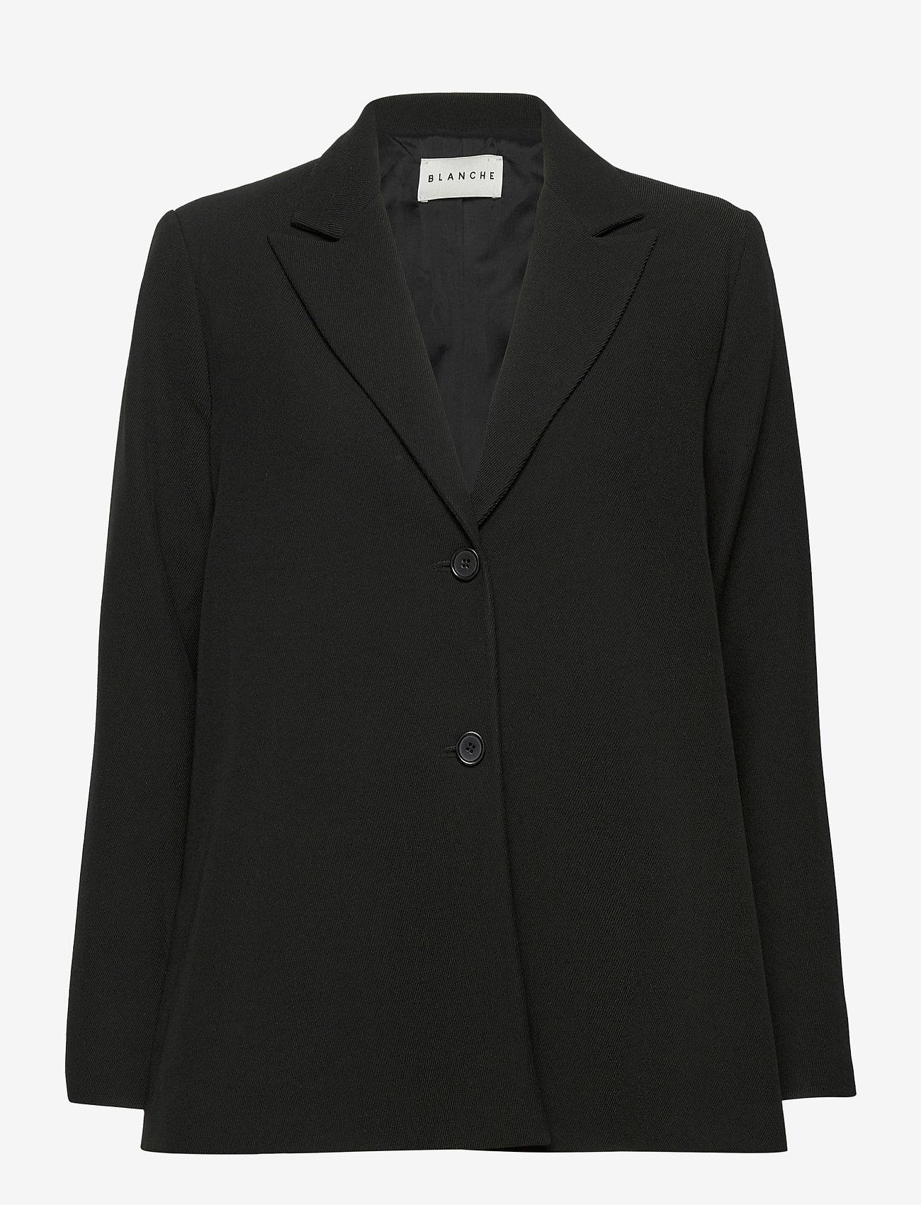 Blanche - Sara Blazer - oversized blazers - black - 1