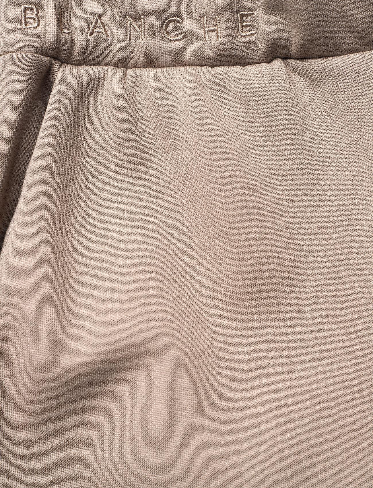 Blanche - BLANCHE x BOOZT Hella Slit Pants - wide leg trousers - cinder - 3