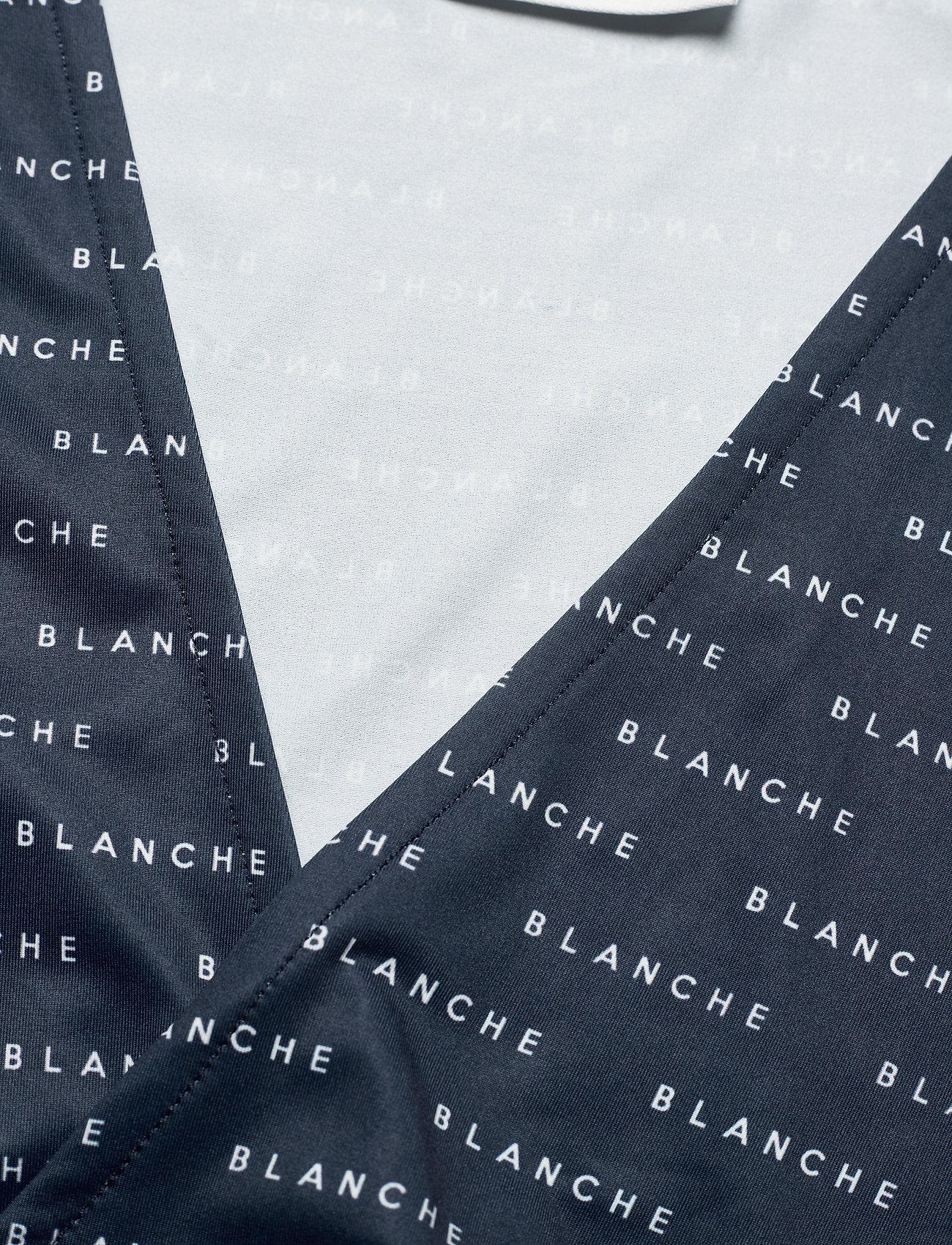 Blanche - BLANCHE x BOOZT Comfy Wrap - BZ - langærmede bluser - duke blue - 2