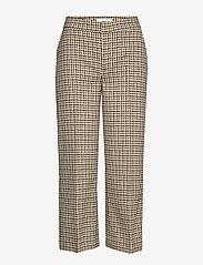 Blanche - Kelly pants - bukser med brede ben - light wood - 0