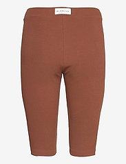 Blanche - Rosa Rib Shorts - cykelshorts - soil - 1
