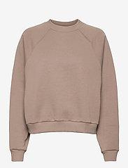 Blanche - BLANCHE x BOOZT Hella Oversize - BZ - sweatshirts & hættetrøjer - cinder - 0
