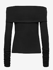 Blanche - Carisi Off Shoulder - gebreide t-shirts - black - 1
