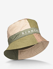 Blanche - Bucket - emmer hoeden - herbal green - 0
