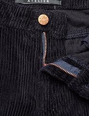 Blanche - Apollo Cord - bukser med brede ben - navy - 3