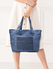 Blanche - Tote denim - casual shoppers - vintage blue - 1