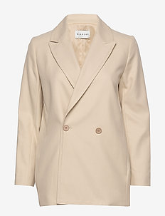 Cera Spring blazer - oversized blazers - macadamia